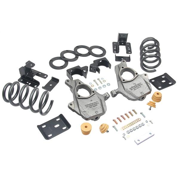 "Chevrolet Silverado 1500 2wd 2016-2018 3"" or 4"" / 7"" Belltech Drop Kit"