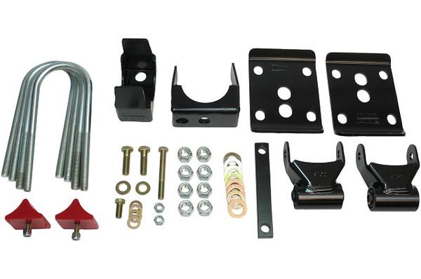 """Chevrolet Suburban 1995-1999 2 Door 2wd Belltech Rear 5.5"""" Drop Axle Flip Kit"""