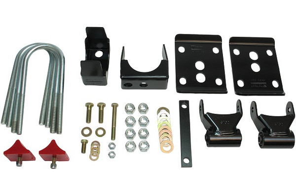 "GMC Suburban 1995-1999 2 Door 2wd Belltech Rear 5.5"" Drop Axle Flip Kit"