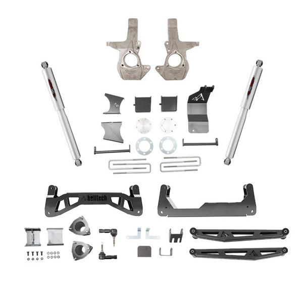 "Chevrolet Silverado 1500 2014-2018 4wd Belltech 7"" Lift Kit"