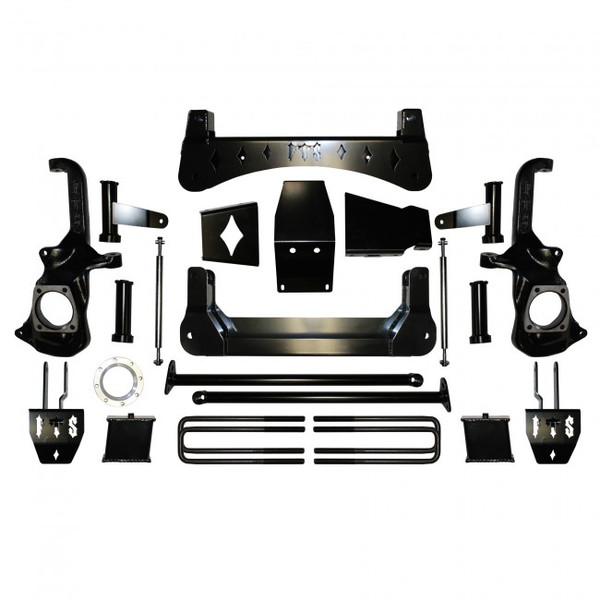 "GMC Sierra 2500HD 2020 Full Throttle 7-9"" Lift Kit"