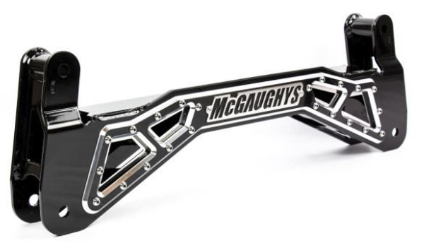 """Chevrolet Silverado 1500 Truck and SUV 2007-2018 McGaughys SS Billet Face Plate for 7"""" Lift"""