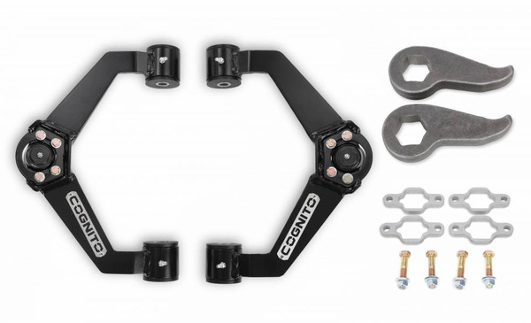 """GMC Sierra 2500HD/3500HD 2011-2019 Cognito 2"""" Performance Front Leveling Kit"""
