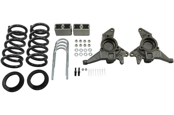 "Chevrolet S-10 Blazer 1998-2004 4"" or 5""/3"" Belltech Drop Kit"