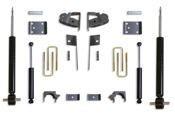 Chevrolet Silverado 1500 2019-2021 Maxtrac Economy 3/5 Lowering Kit