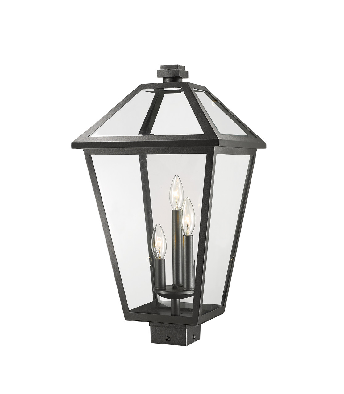 Talbot Extra Large 3 Light Outdoor Post Mounted Fixture Z Lite