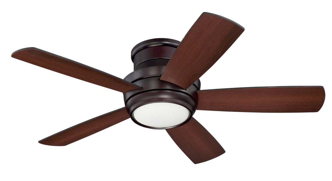 Image of: Tempo Hugger 44 Flush Mounted Ceiling Fan By Craftmade