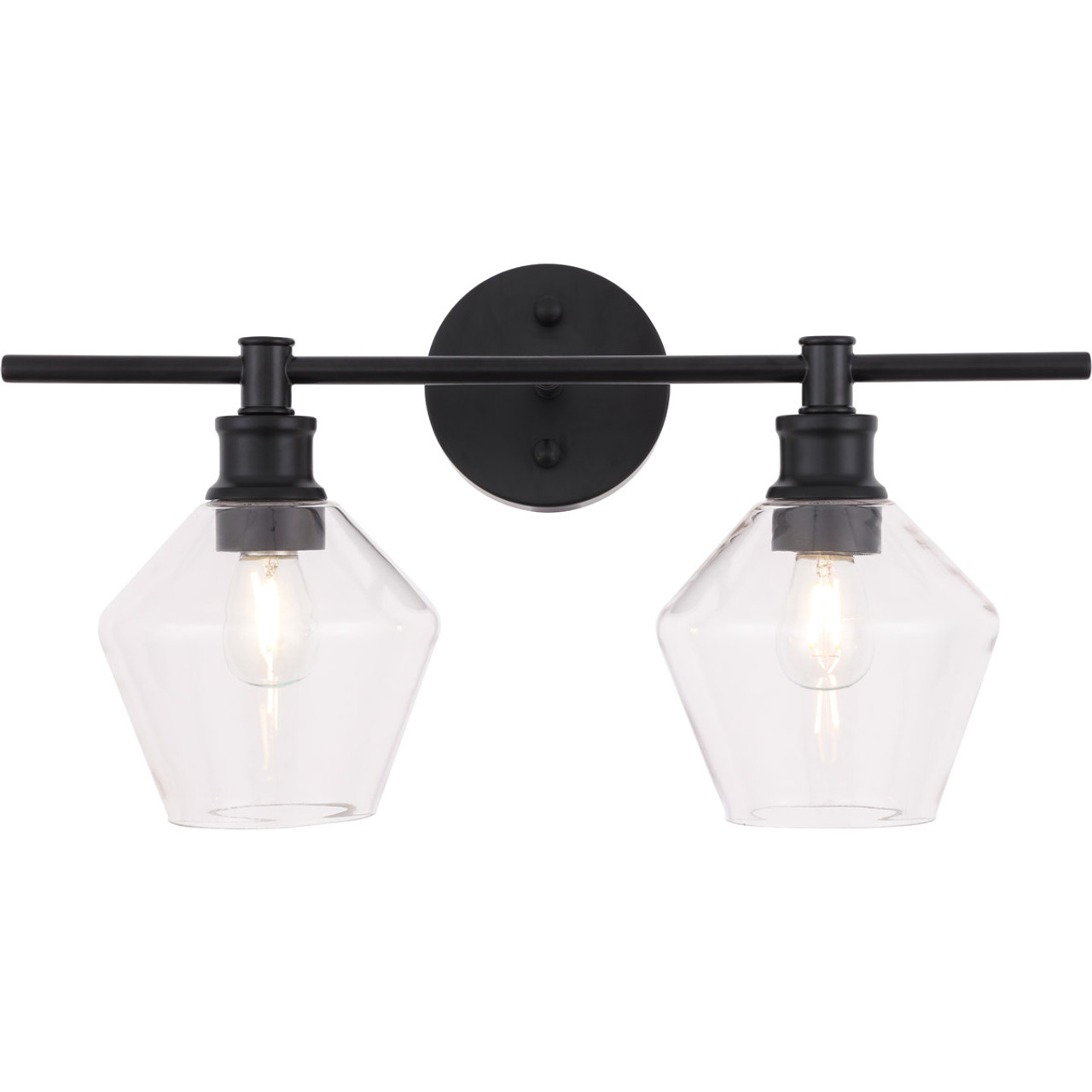 Gene 2 Light Vanity Light By Elegant Lighting