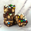 Old Fashion Fudge Chocolate S'more with M&M's