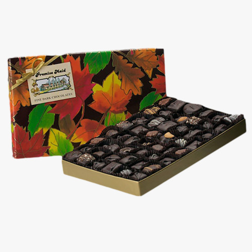 Dark Chocolate 1.5 lb. Autumn Assortment Gift Box