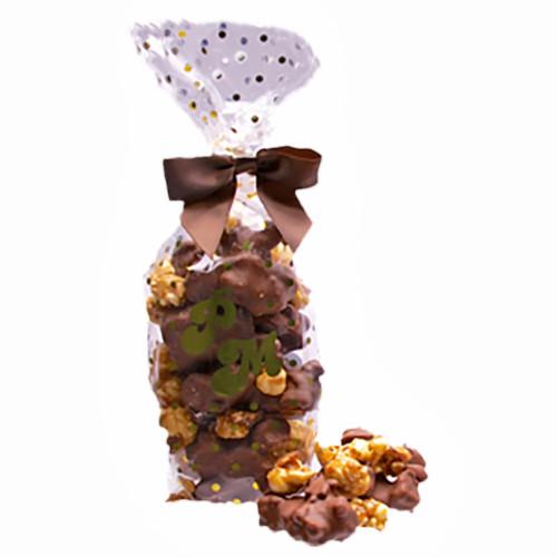 Milk Chocolate Pretzel Popcorn Cluster Gift Bag