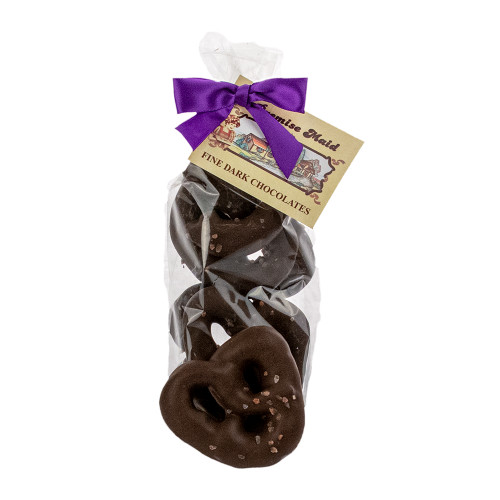 Himalayan Sea Salt Pretzels Dark Chocolate