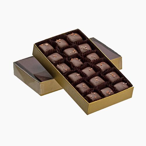 Dark Chocolate Vanilla Caramel With Sea Salt