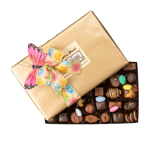2 lb. Chocolate Assortment Presentation Gift  Box