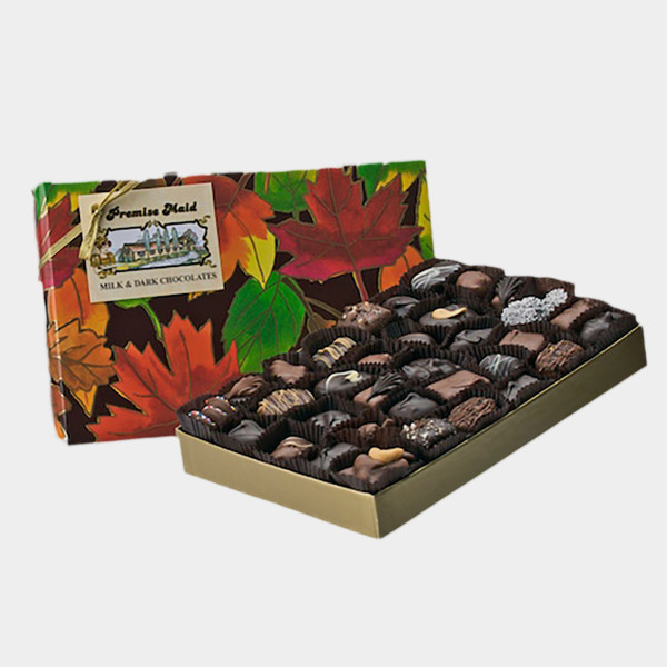 Milk & Dark  Chocolate 1 lb. Seasonal  Assortment Gift Box