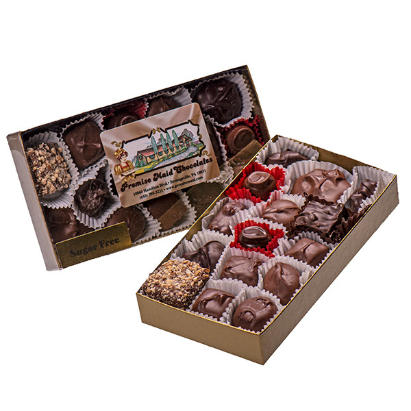 1/2 lb. Sugar Free Assortment Gift Box