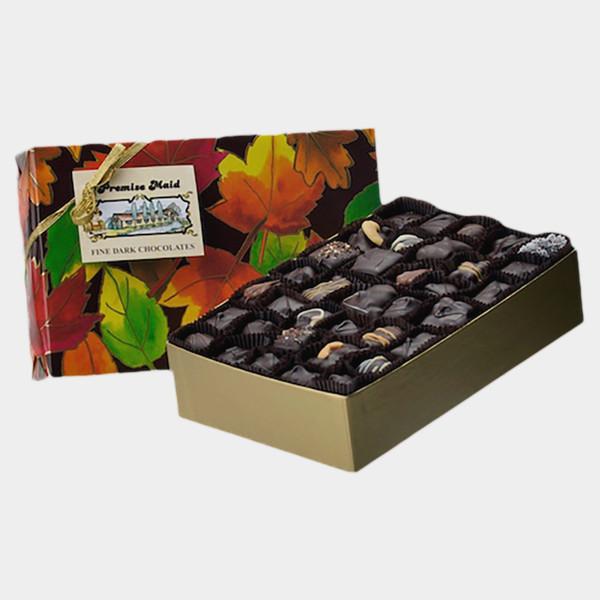 Dark Chocolate 2 lb. Autumn Assortment Gift Box