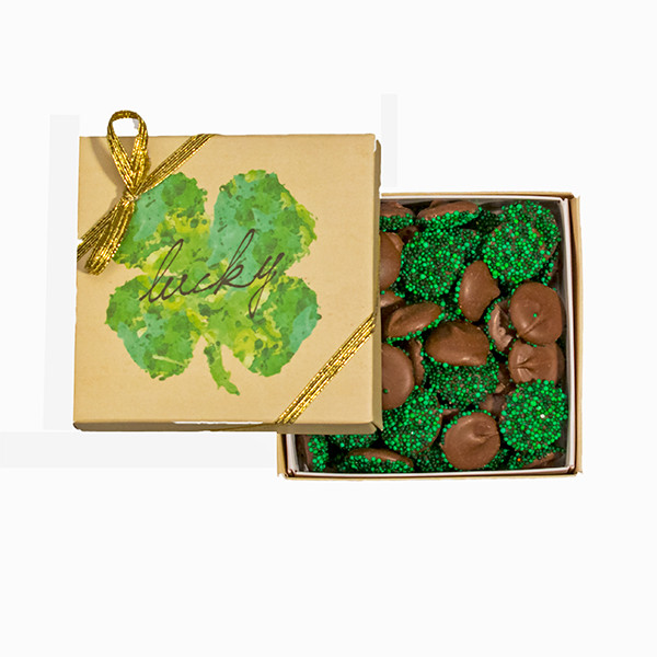 4 Leaf Clover  Good Luck Box