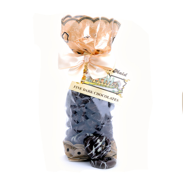 Dark Chocolate Tiny Pretzel Twists Gift Bag
