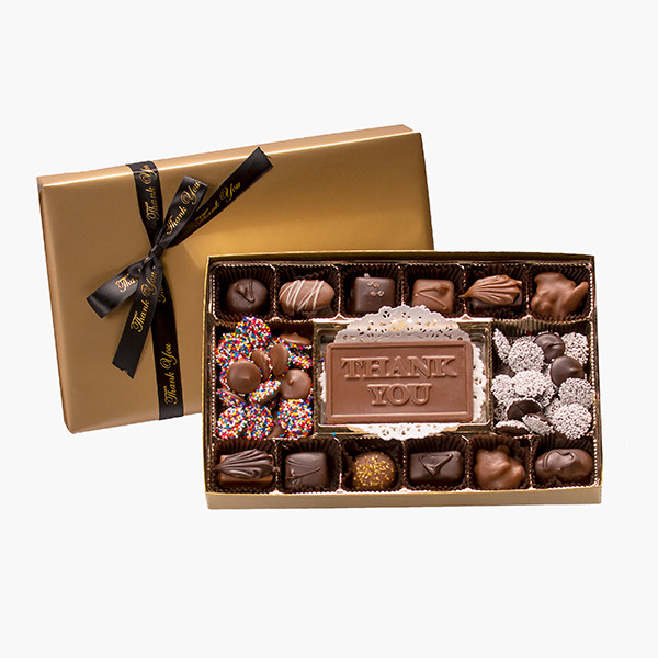 Thank You Assorted Chocolates Gift Box