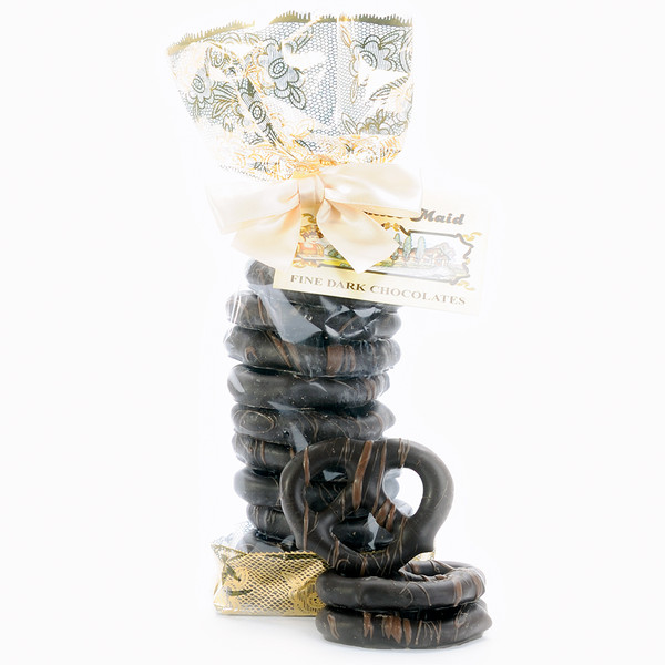 Dark Chocolate Pretzel Twists Gift Bag