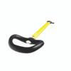Spinlock Asymmetric Handle Tiller Extension 1200mm  - Yellow
