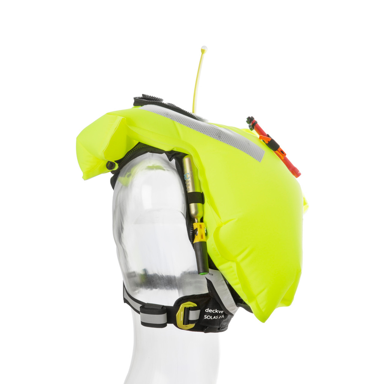 Spinlock SOLAS 275N Deckvest Lifejacket - Inflated