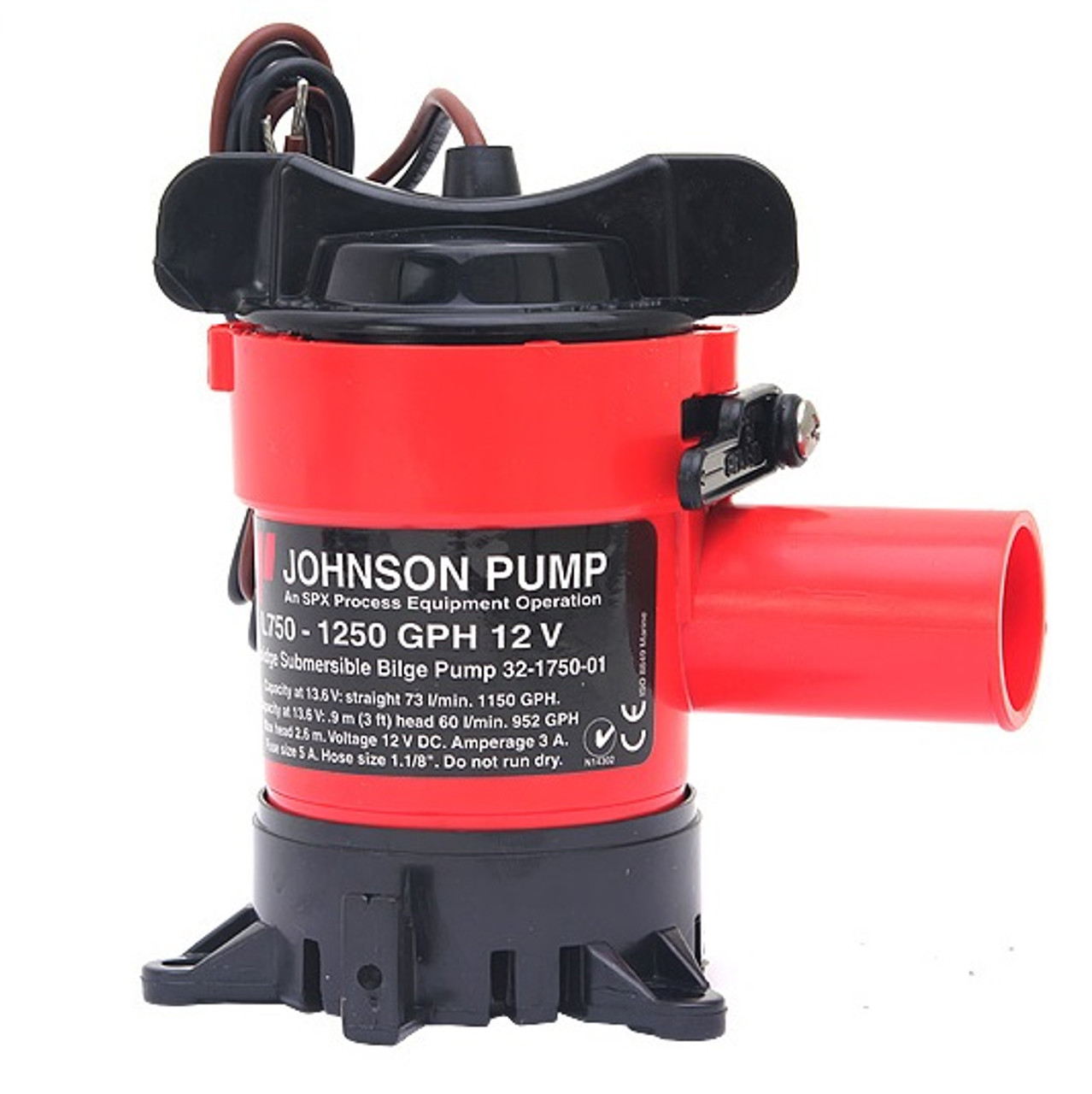 SPX Flow Johnson Pump L750 12V Bilge Pump SFBP1-G1100-01 (J-32-1750-01)