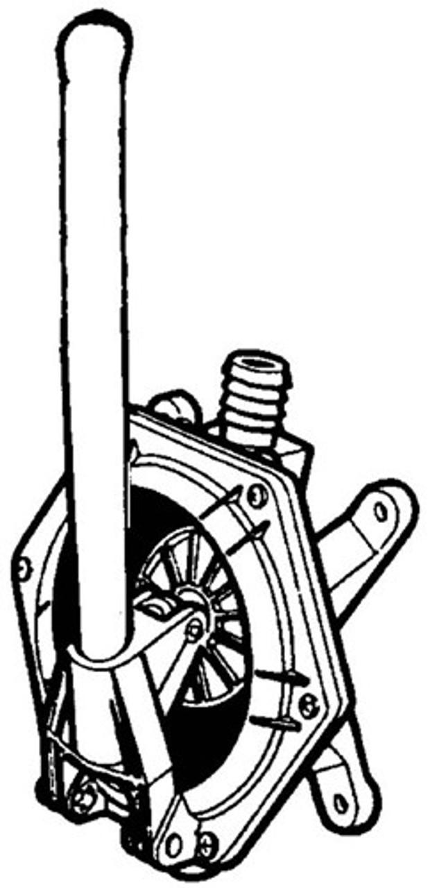 RWB Jabsco Amazon Manual Bulkhead Pump 25 (J30-104 Jabsco 29240-0000)