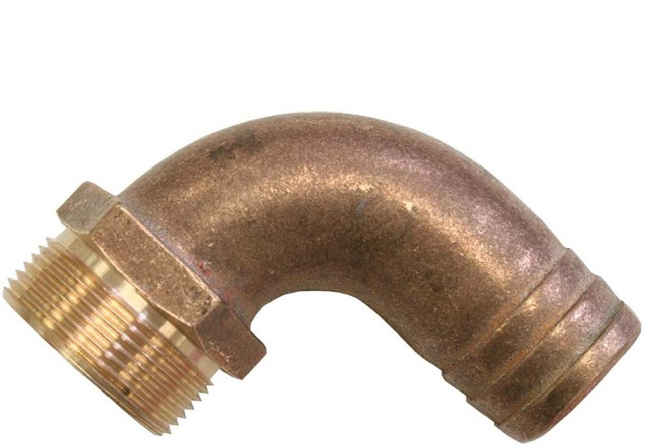 """Bronze Hose Elbow 2"""" x 50mm (RWB1500)"""