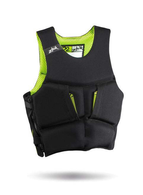 Zhik P2 Contoured PFD Lifejacket -Black front