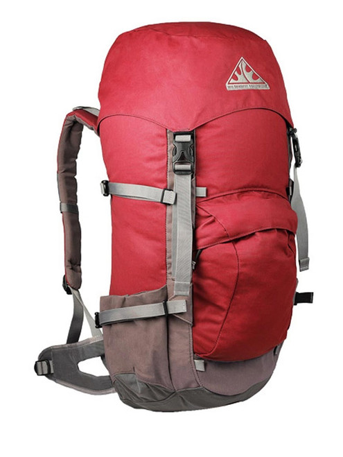 Wilderness Equipment Contour Backpack - Pinot/Grey