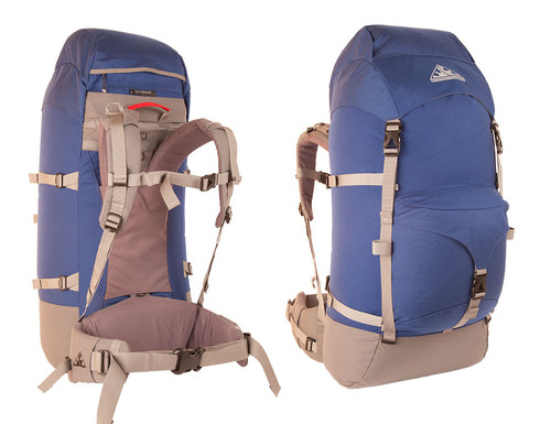 Wilderness Equipment Outbreak Backpack - Navy/Grey