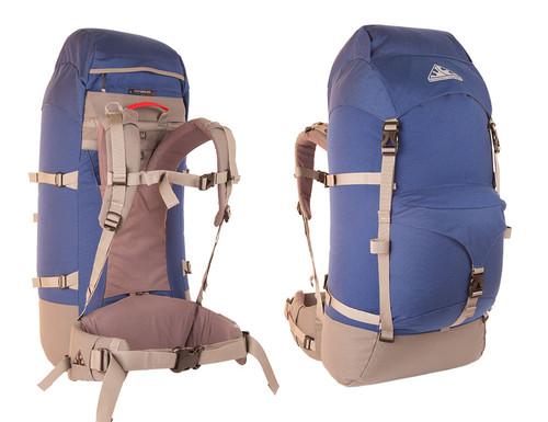 Wilderness Equipment Outbreak Backpack - Navy/Grey