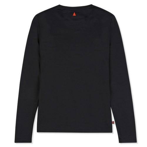 Musto Sunshield Long Sleeve T-Shirt Women - Black