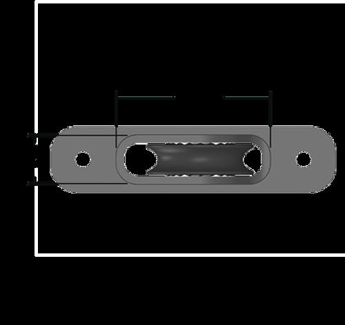 Harken 50mm Protexit Single Thru-Deck Exit Block (HK1203)
