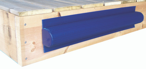 "Dock Edge Boat Saver 24"" Dock Bumper - Navy Blue PVC (DE1005NF)"