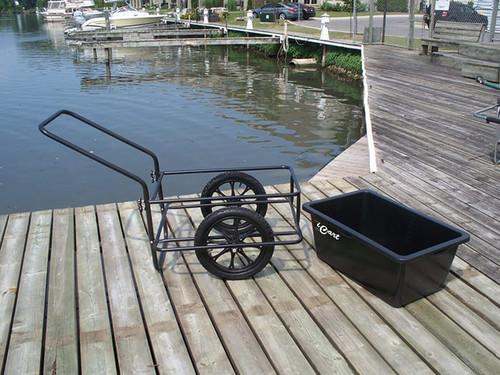 Dock Edge iCart Dock Side with Solid Tires (DE90605F)