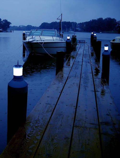 Dock Edge Solar Piling Cap Light (DE96268F)