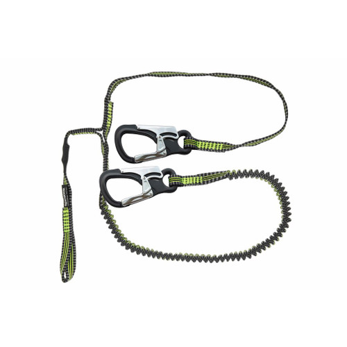 Spinlock 2 Clip & 1 Link Elasticated Performance Safety Line