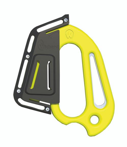 Wichard Line Cutter Plain Blade Shackle Key Sheath - Fluorescent