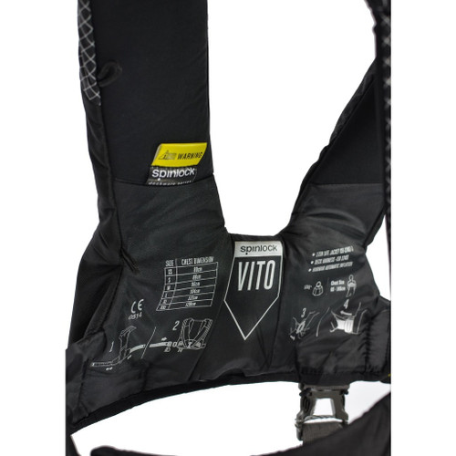 Spinlock Deckvest VITO Offshore 170N Hammar Lifejacket + MOB1 + Tether - SPECIAL OFFER