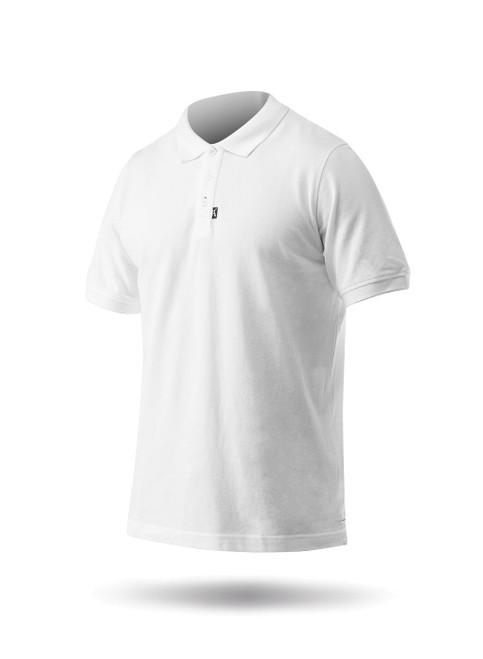 Zhik Classic Cotton Polo - White side