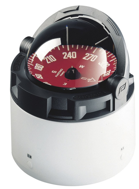 Plastimo Olympic 135 Compass with binnacle - Black with Red Card