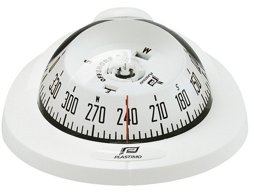 Plastimo Offshore 75 Compass Flush Mount - White