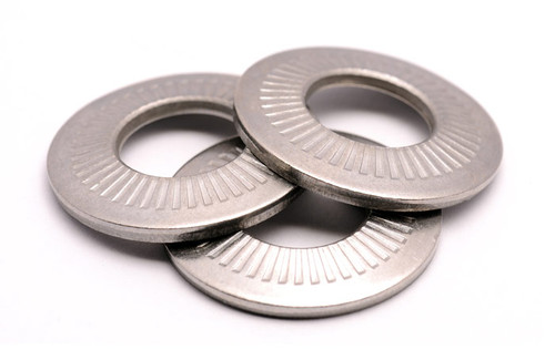 Bevelled washers