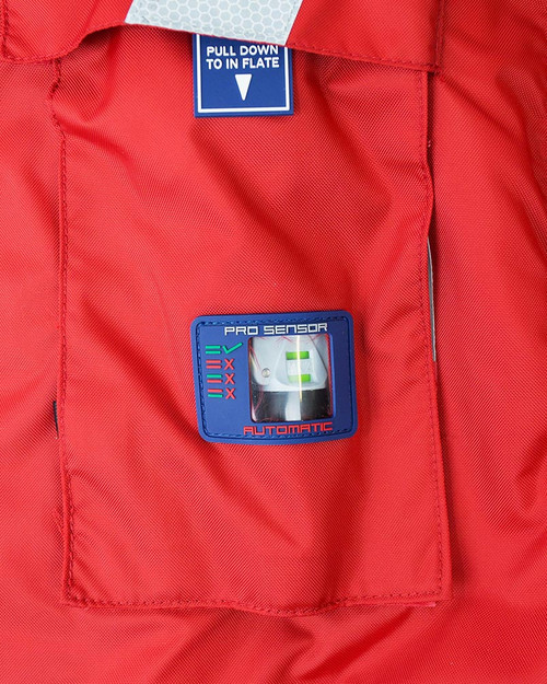 Stormy Life Jacket with Pro Sensor Valve & Window 150N (ISJ-150)