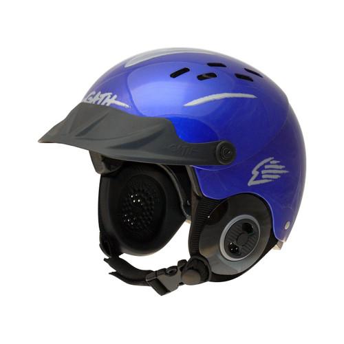 Gath Gedi Ribbed Peak on blue helmet