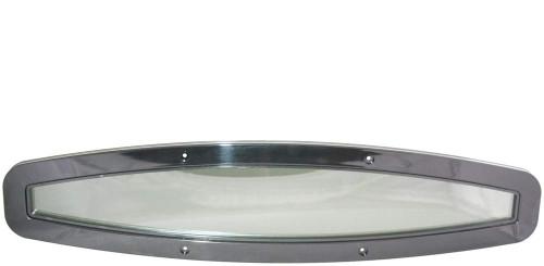 Beckson Oval Flexible Portlight Black/Tint 600mm (RWB2773)