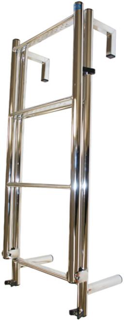 Stainless Steel Toe Rail 6 Rung Yacht Ladder (RWB275A)
